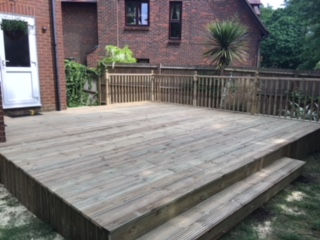 Garden Decking – Romsey