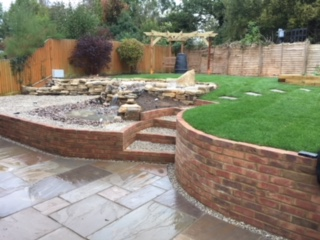 Garden Wall Design – Romsey